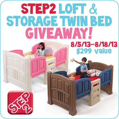 Step 2 Loft and Storage Twin Bed 500 x 500