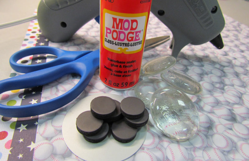 Supplies for Magnet DIY