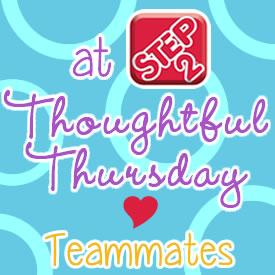 Thoughtful thursday teammates