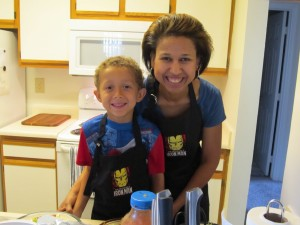 Tiffany & Alex in the Kitchen