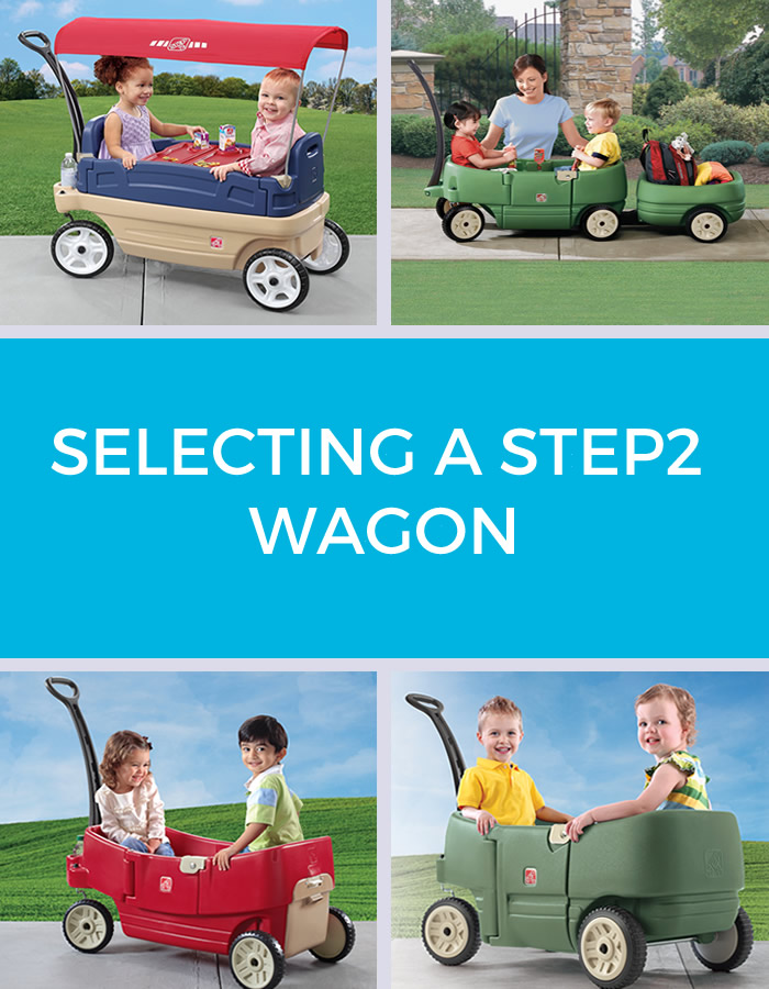 Selecting the Perfect Step2 Wagon - Dimensions and Features