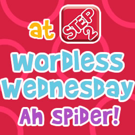 Wordless Wednesdays ah spider