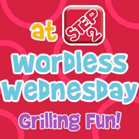 Wordless Wednesdays grilling fun