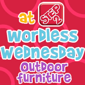 Wordless Wednesdays outdoor furniturejpg