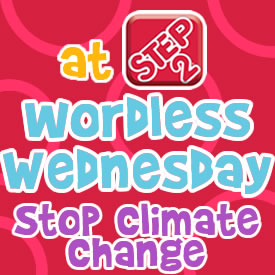 Wordless Wednesdays stop climate change