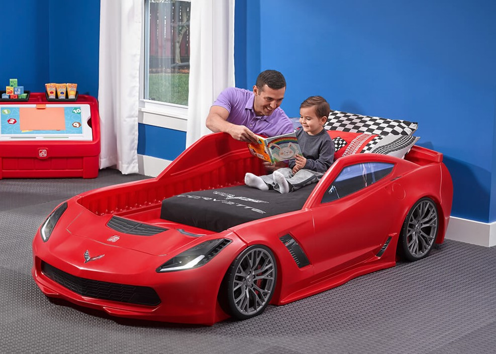 A Few Car Themed Accessories Will Shift The Room To High Gear Without  Breaking The Bank. Check Out Step2u0027s Line Of Car Themed Bedroom Accessories  To Make ...