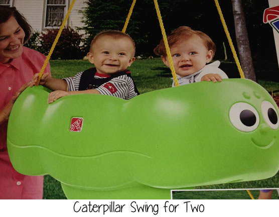caterpillar swing for two