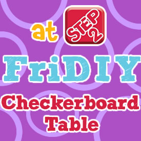 FriDIY Checkerboard Table