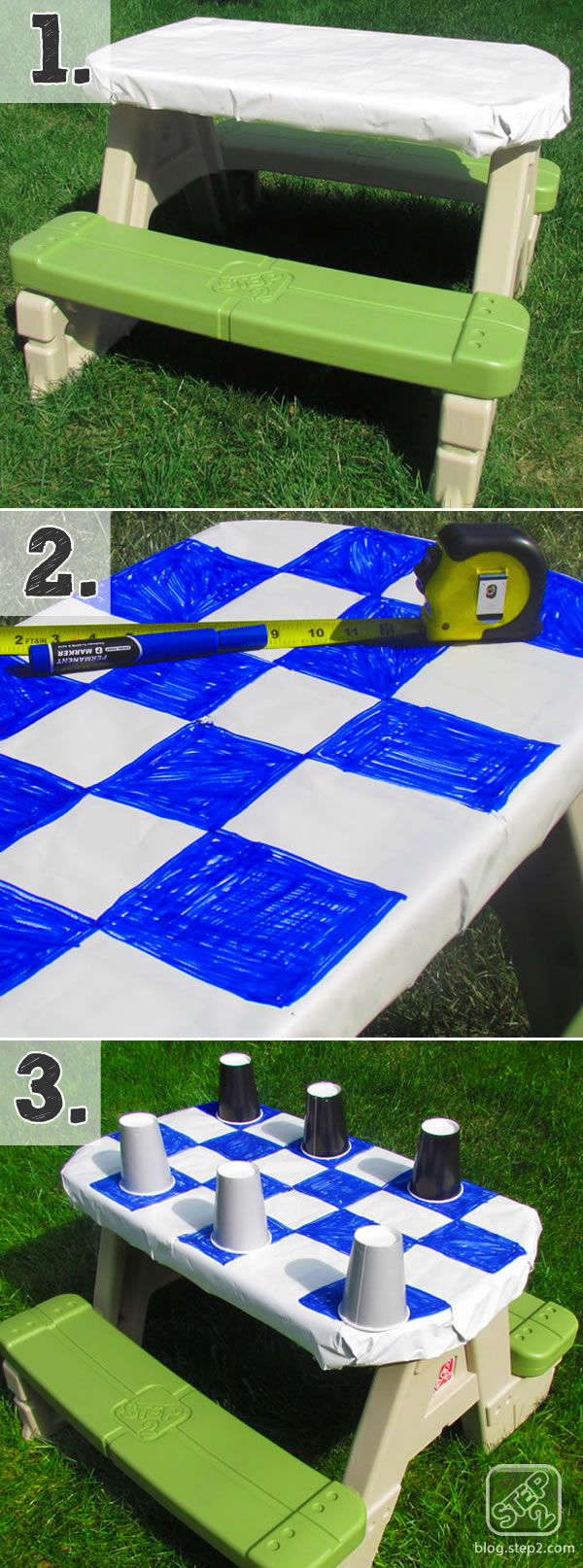 checkerboard tutorial