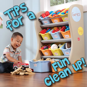 The Fun of Clean Up - Step2 Blog