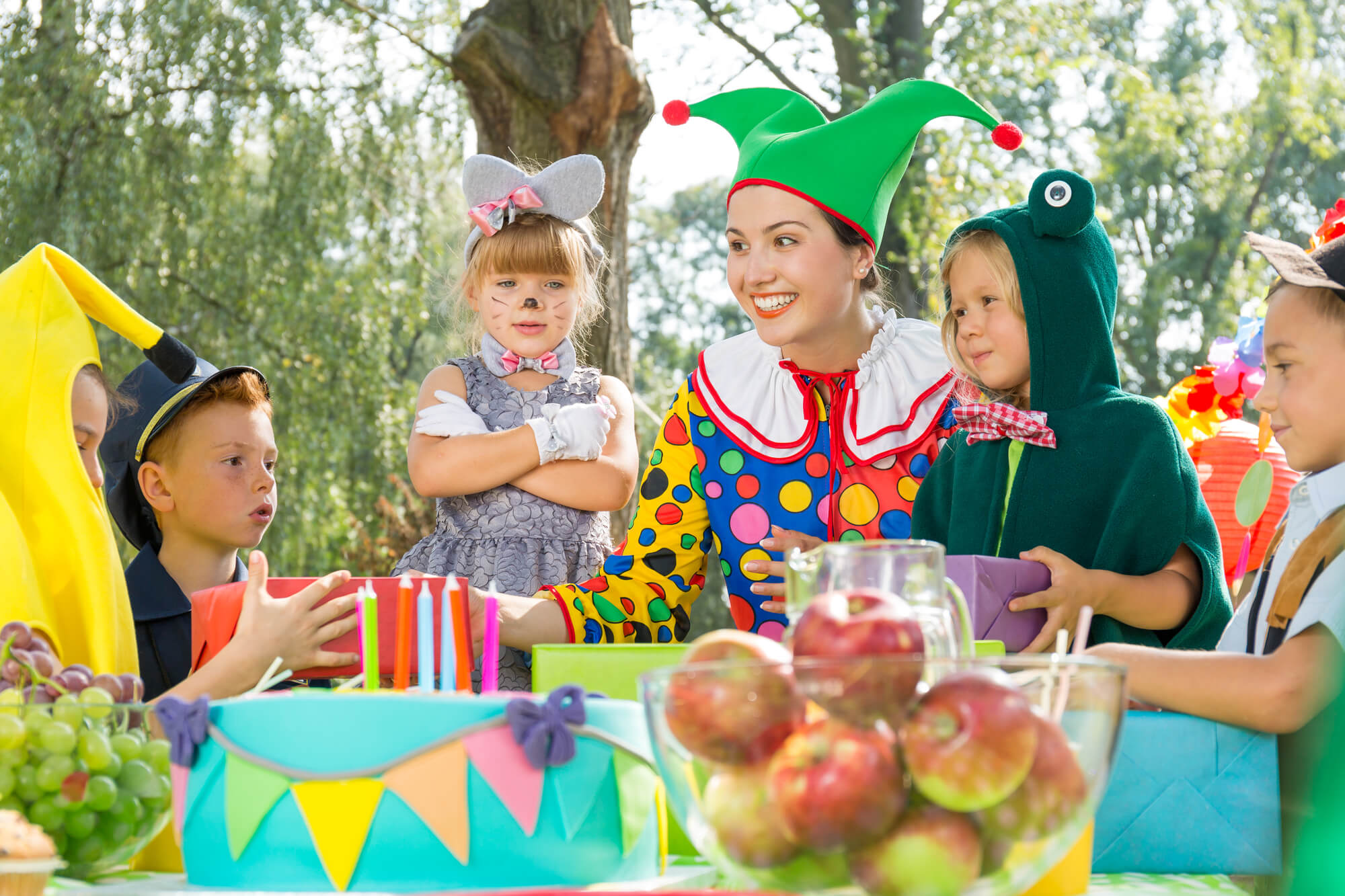 fall birthday party activities costumes