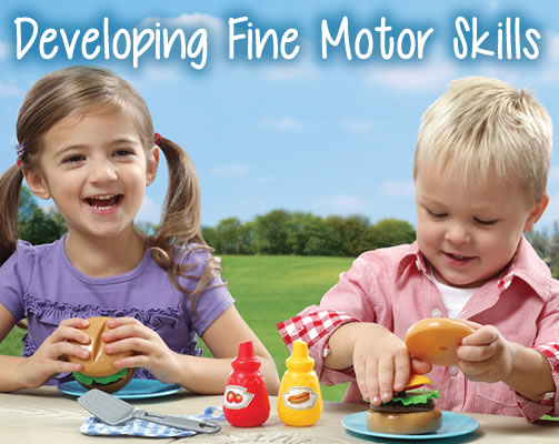 Developing Fine Motor Skills Step2 Blog
