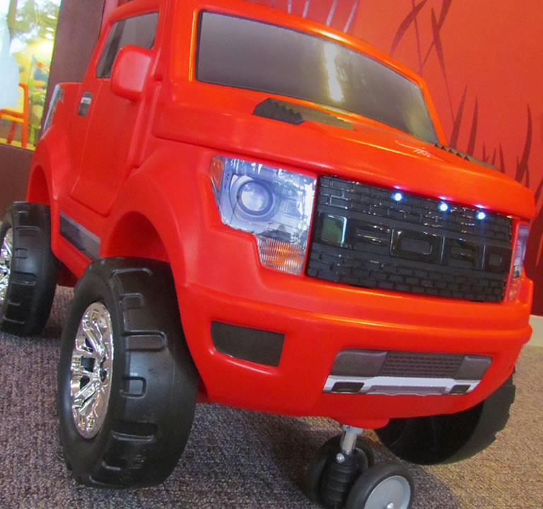 2-in-1 Ford® SVT Raptor
