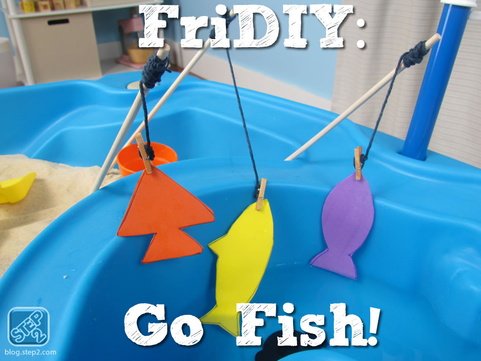 Go Fish Kid S Water Table Activity Step2 Blog