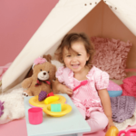 importance of pretend play tea party