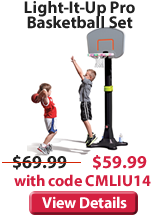 light it up pro basketball set.fw