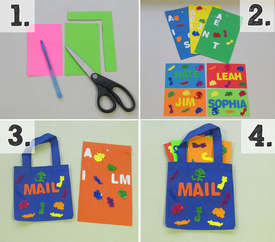 mail and mail bag instructions
