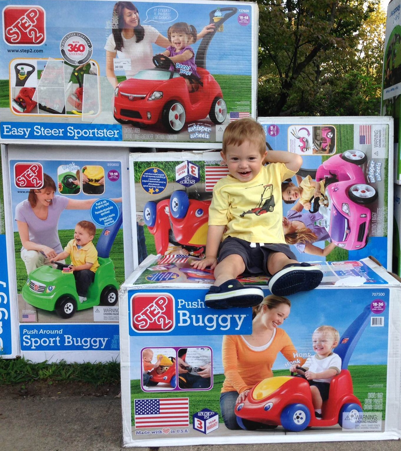 CHOP Buggy Donation