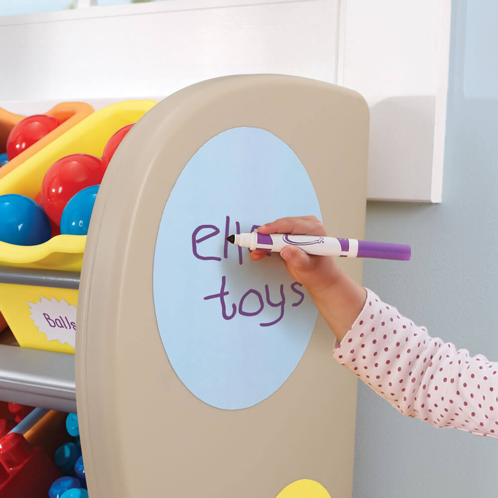 organize kids room ideas shallow drawers