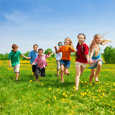 outdoor fitness games for kids running