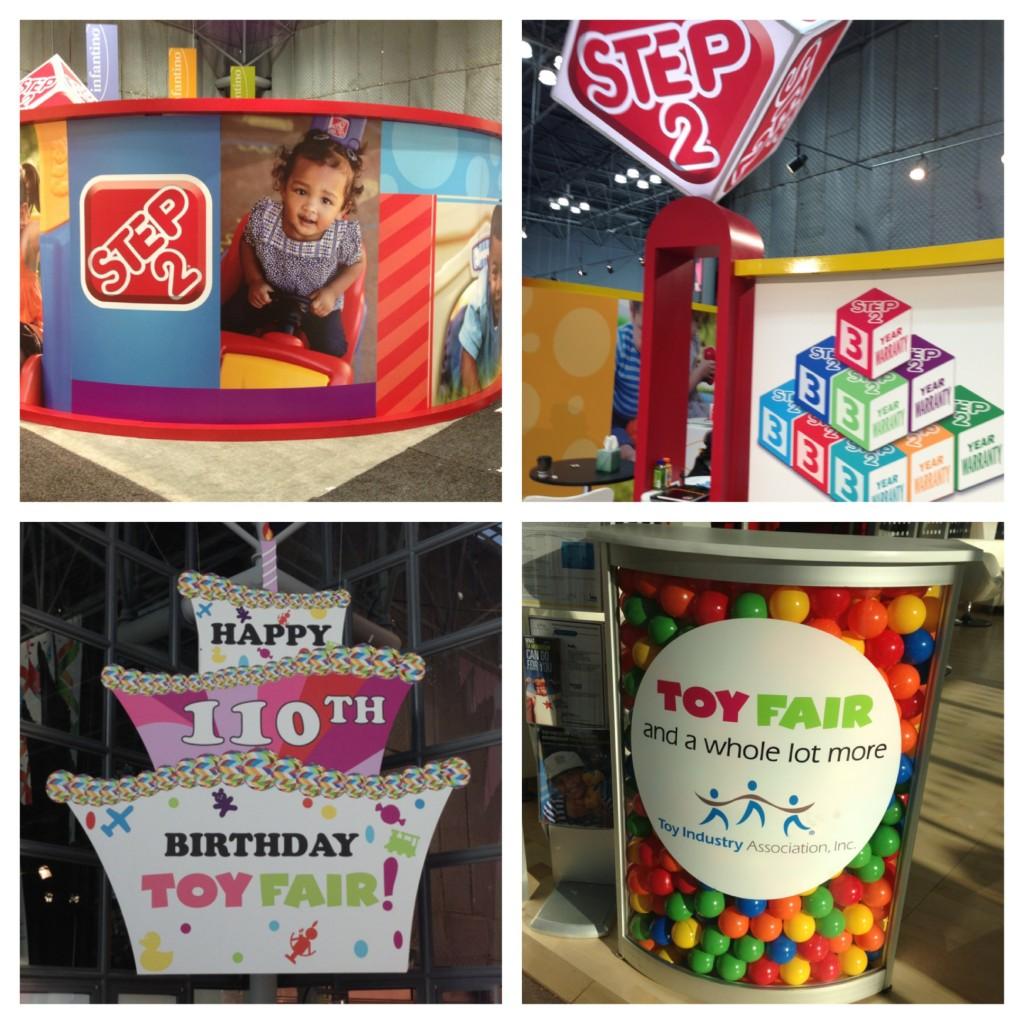 Step2 Booth at NY toy Fair 2013