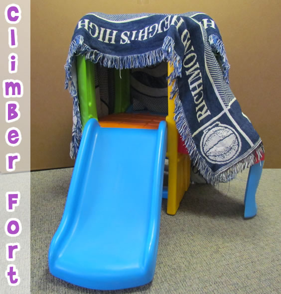 secret climber fort for kids