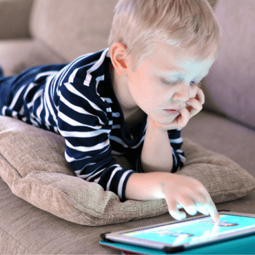 reduce screen time child on tablet