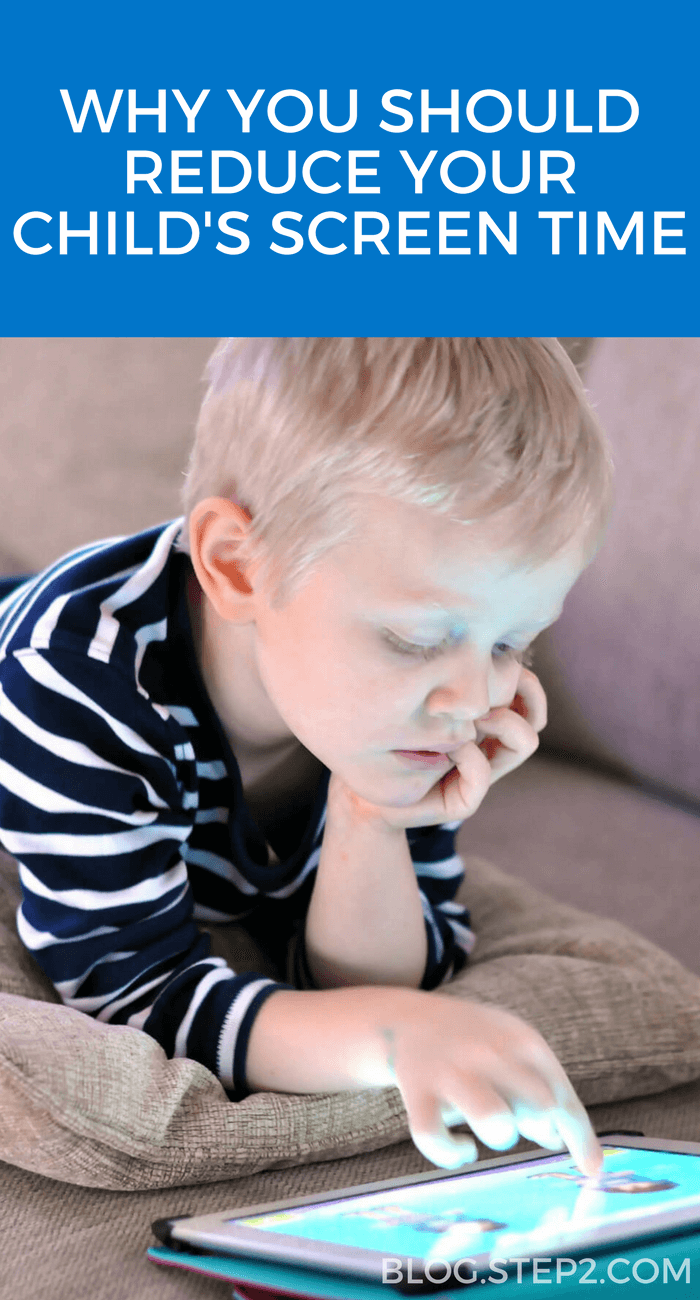 reduce screen time child on ipad