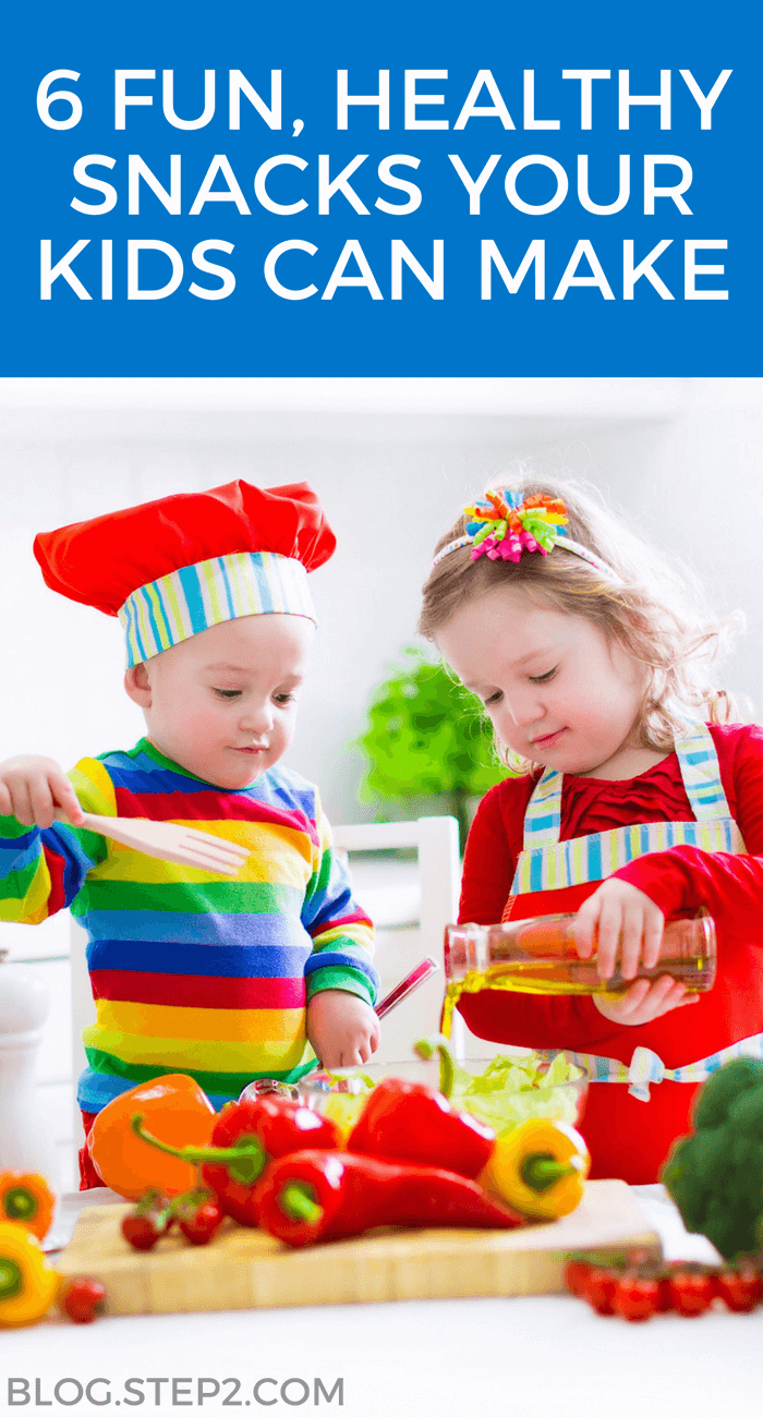 fun healthy snacks for kids to make