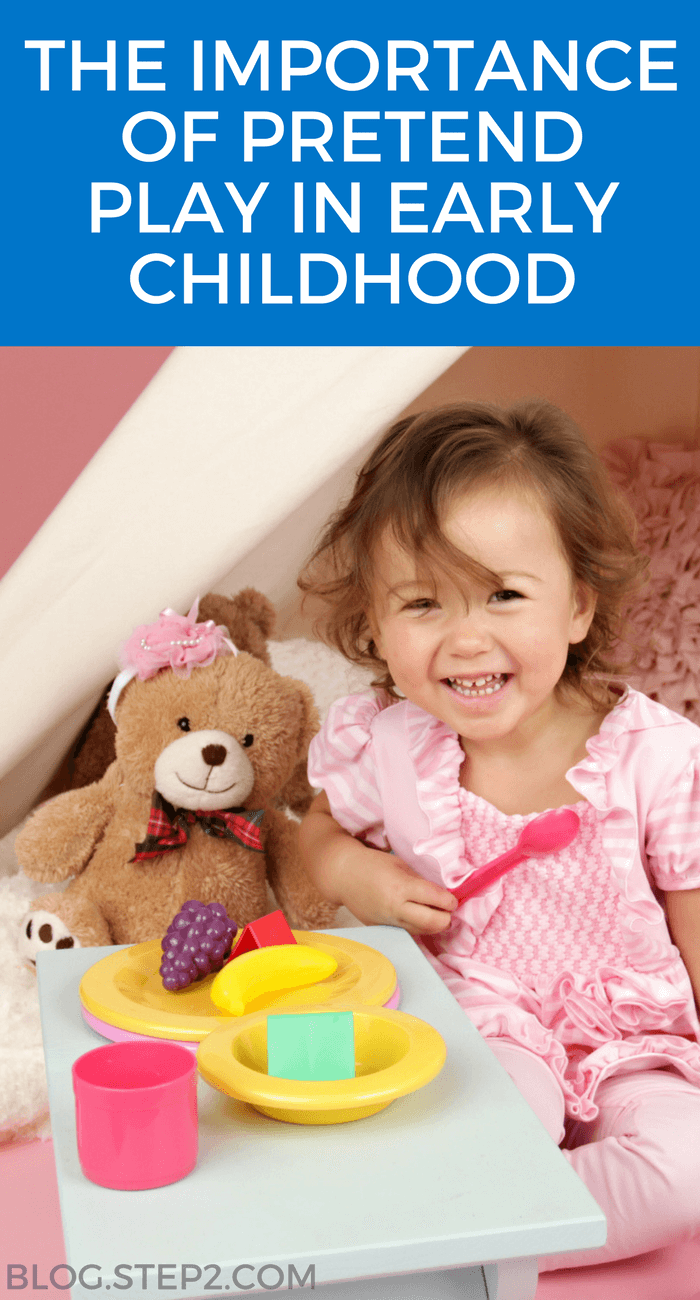 importance of pretend play in early childhood