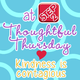 thoughtfulthursday button kindness is contagious