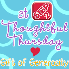 thoughtfulthursday gift of generosity