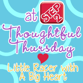 Thoughtful Thursday: Little Racer with a Big Heart