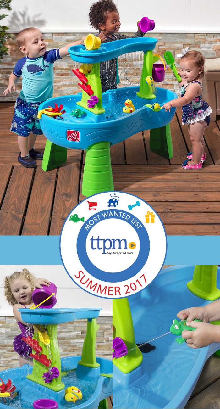 Best Summer Outdoor Toy! Step2 Rain Showers Splash Pond Water Table was recognized by TTPM and The Toy Insider as one of the best outdoor play toys this summer!