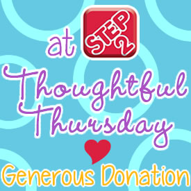 thoughtful thursday generous donation