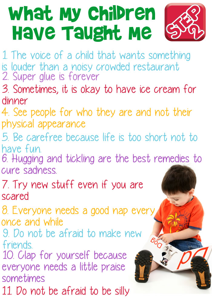 what my children have taught me