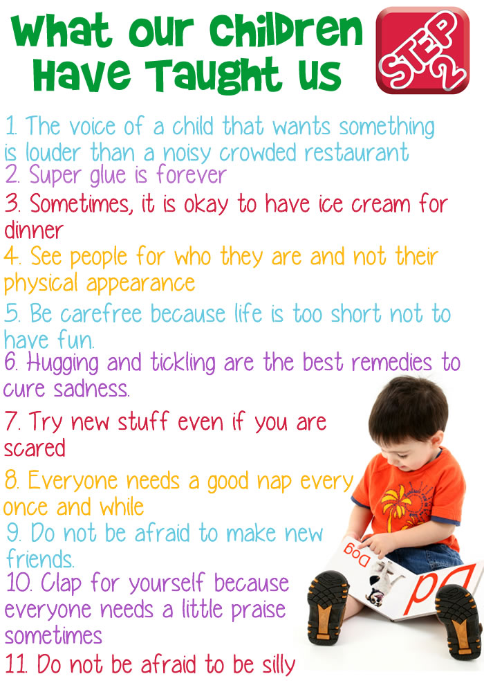 what our children have taught us