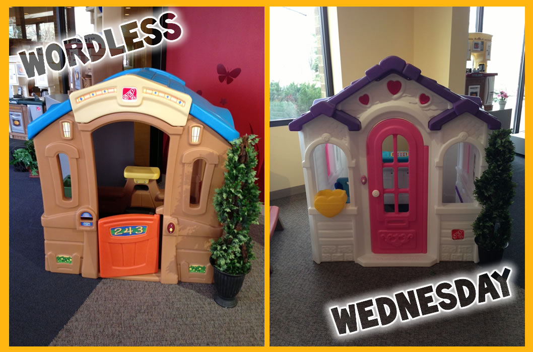 wordless wednesday-playhouses