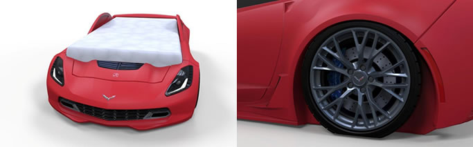 Realistic Corvette® Z06 design and style!