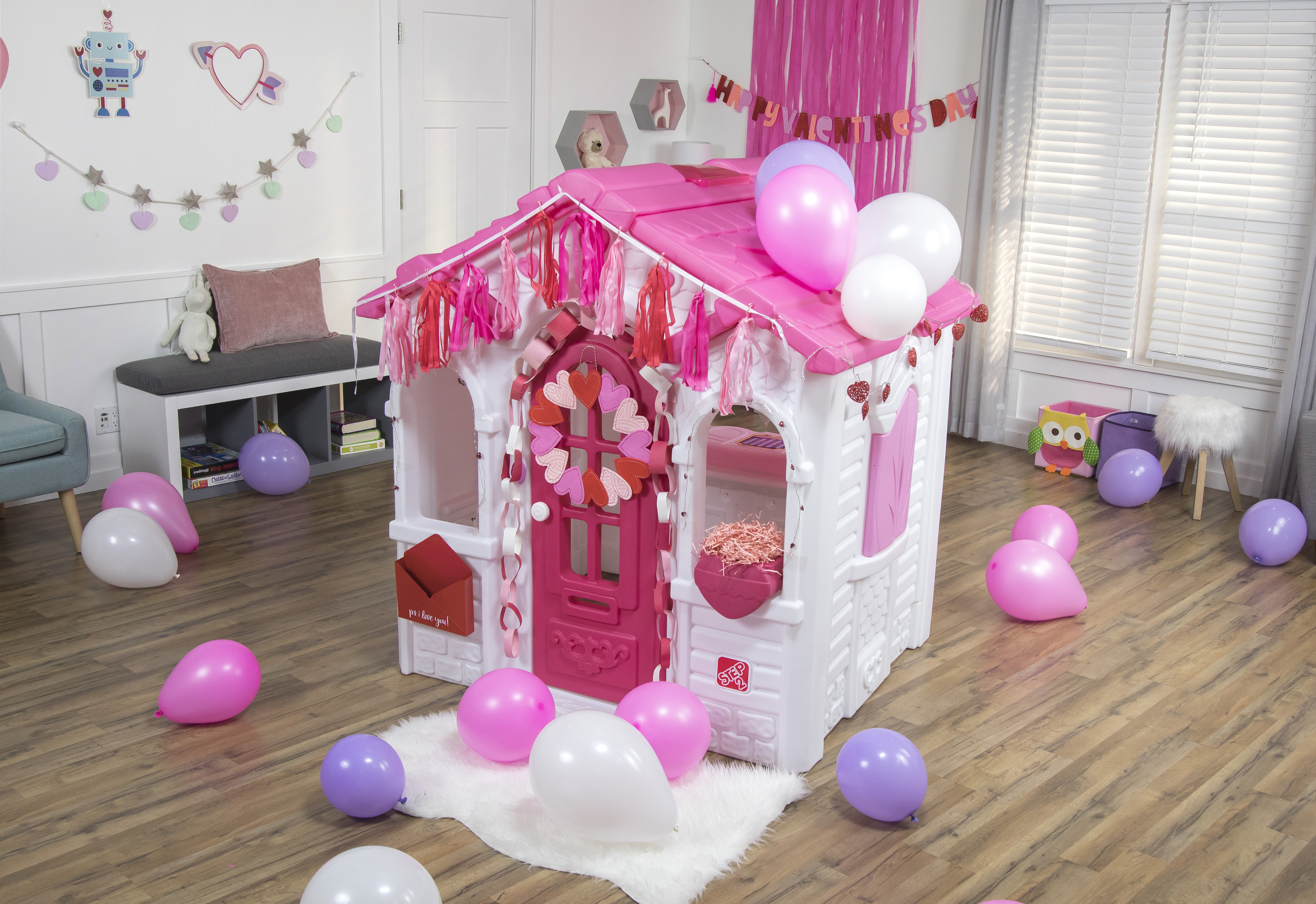 dc6b928e63e21 DIY Your Playhouse for Valentine s Day +  Step2VDayGiveaway CONTEST   (CLOSED) . by Step2