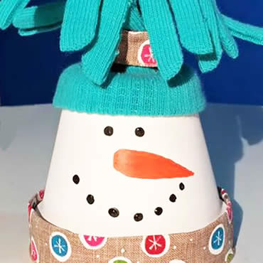 Clay Snowman Featured