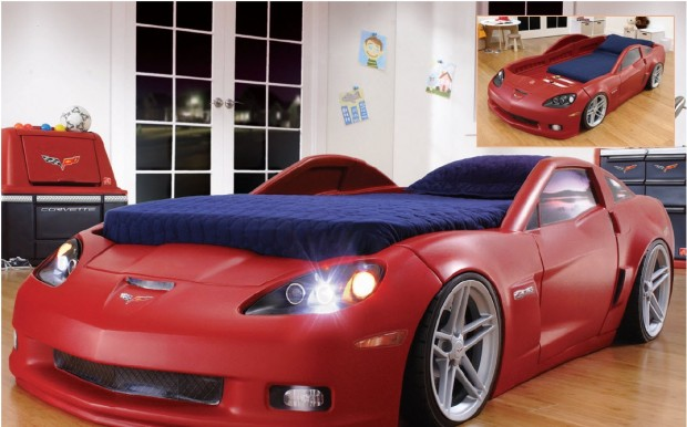 Racing To The Finish With The Launch Of Corvette Bed