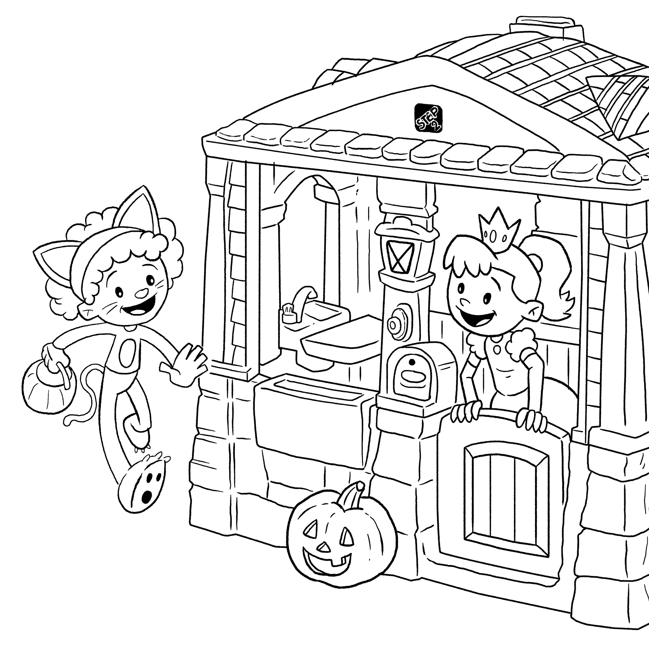 Halloween Ideas for Kids Roundup + FREE Coloring Page ...