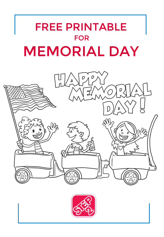 picture about Memorial Day Printable called No cost Printable against Action2 for Memorial Working day - Print this
